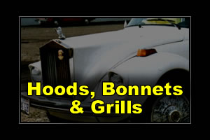Hoods Bonnets and Grills